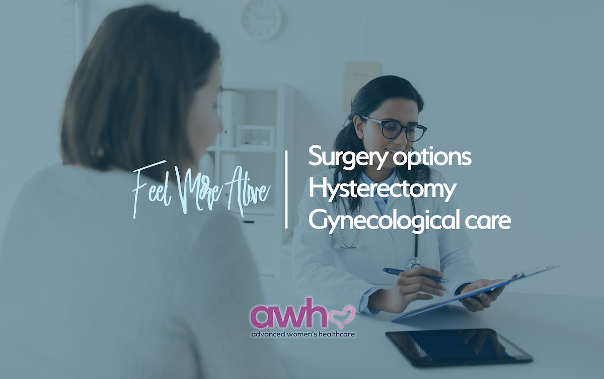 Hysterectomy Gynecology AWH Dallas OBGYN