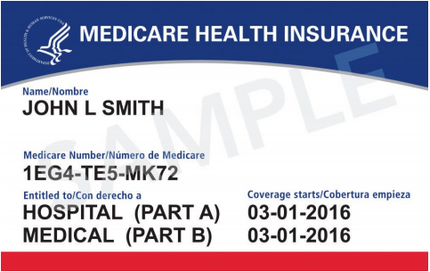 Medicare Health Insurance Card - Advanced Womens healthcare dallas tx